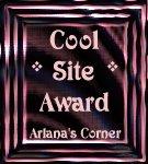 Arlana's Corner Award